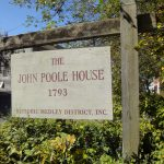 John Poole House sign